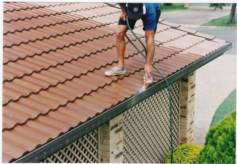 Perth step 11 clearing gutters of debris
